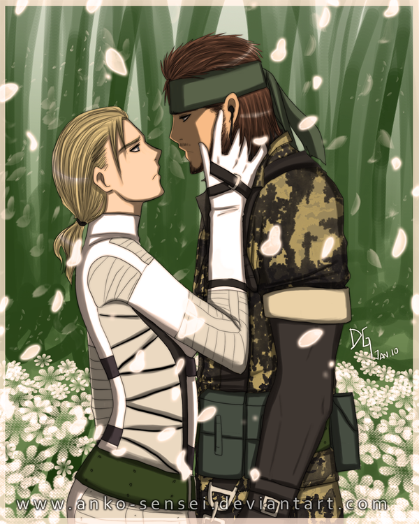 MGS3_There's only room... by Anko-sensei