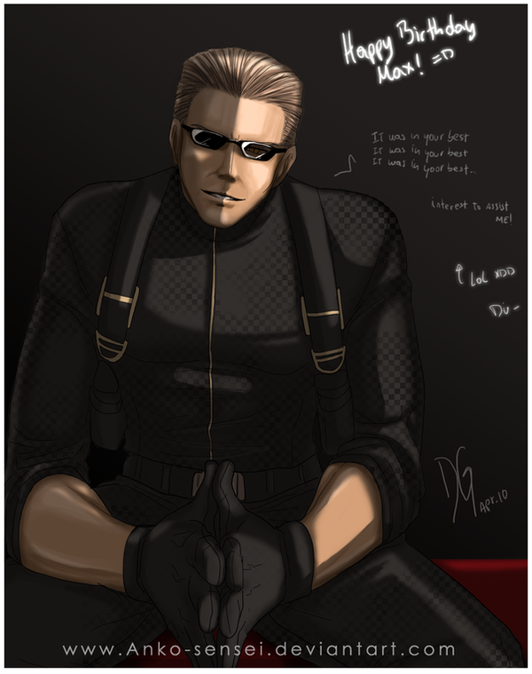 Gift-Wesker_ItWasInYourBest xD by Anko-sensei