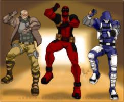 Marvel Boys Gangnam Style xD by Anko-sensei