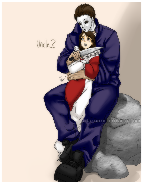 Halloween_Uncle Michael and Jamie by Anko-sensei