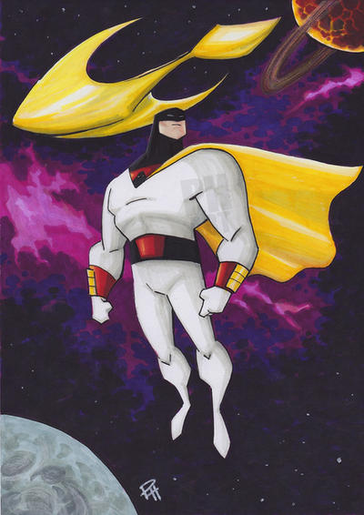 Space Ghost  by Pauljhill