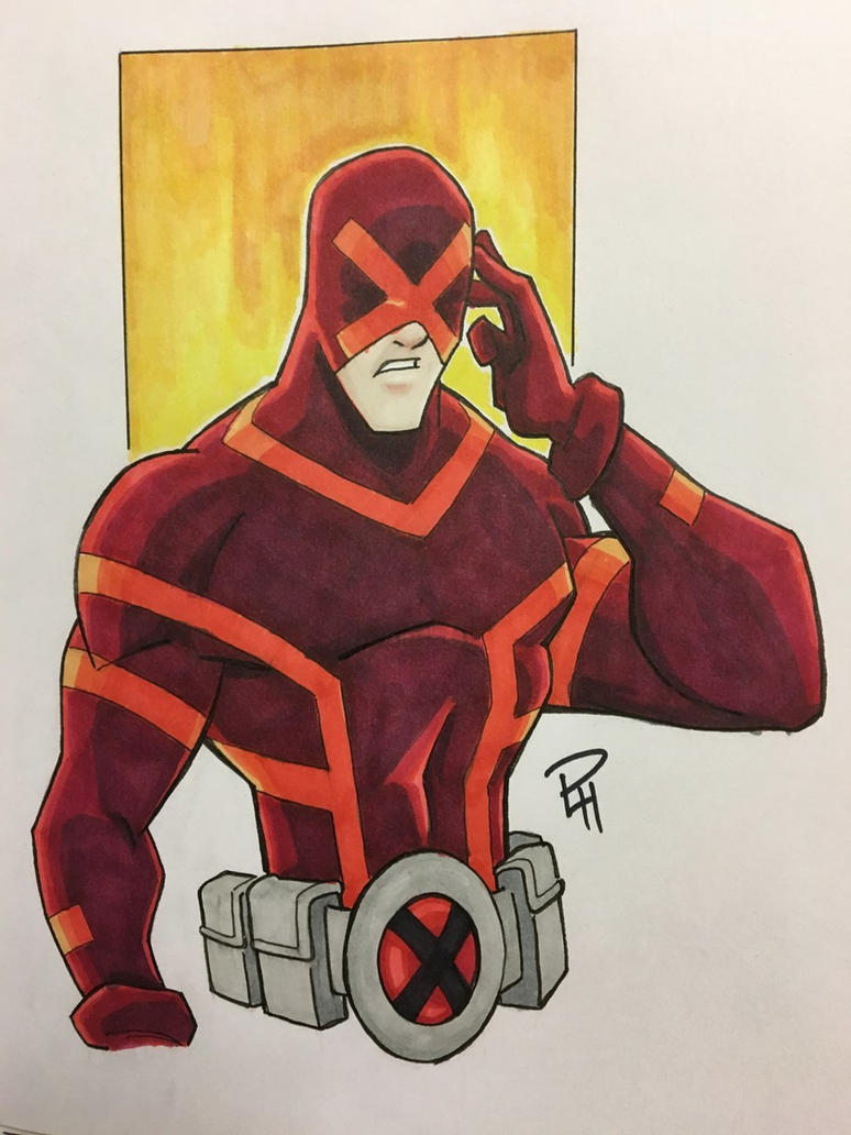Cyclops Scott Summers by Pauljhill