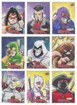 Marvel Deadpool Sketch Cards 2018 (4of5)
