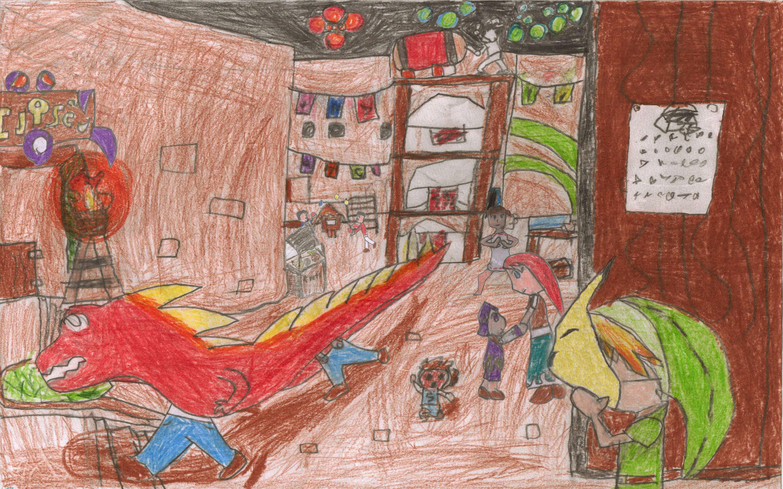 Calendar Art Competition : Zelda art for calendar contest by gamesoulus on deviantart