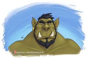 Orc Portrait 1