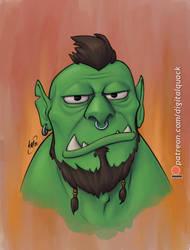 Orc Portrait 2