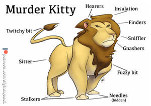 Beasty Bits no.3 - Murder Kitty