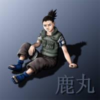 Shikamaru by Pepsica