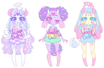 Pikokoro Guest Adoptables REDUCED Closed