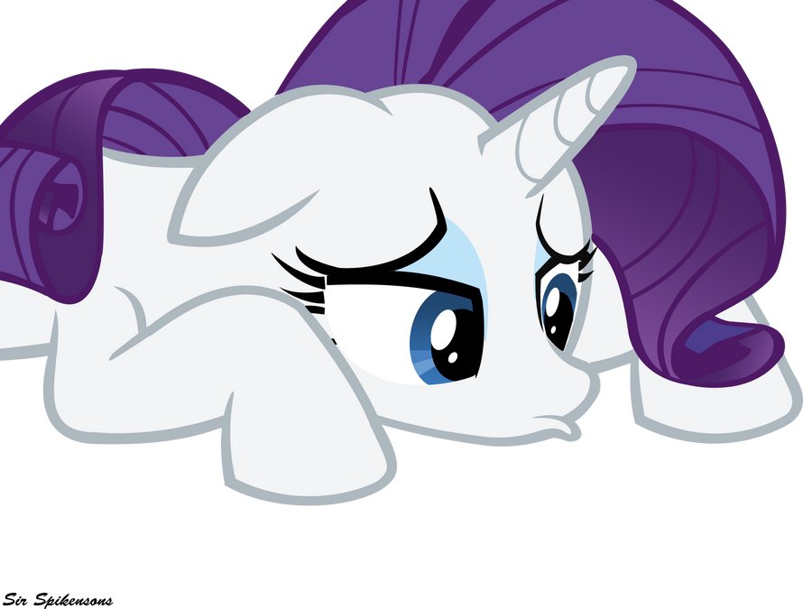 Sad Rarity by SirSpikensons