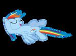 Chilling Rainbow Dash