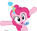 Pinkie Celebrating by SirSpikensons