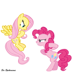 Fluttershy vs. Pinkie Pie