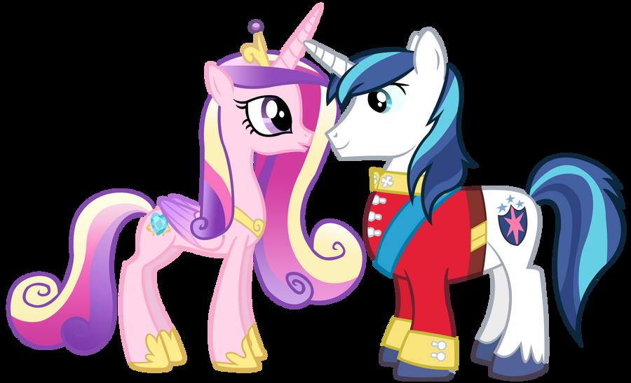 Princess Cadence and Shining Armor