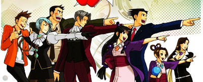 Phoenix Wright Ace Attorney Wallpaper By Kitsunelink On