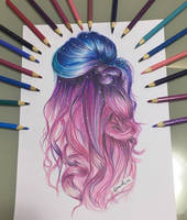 Colorful Hair by arielim