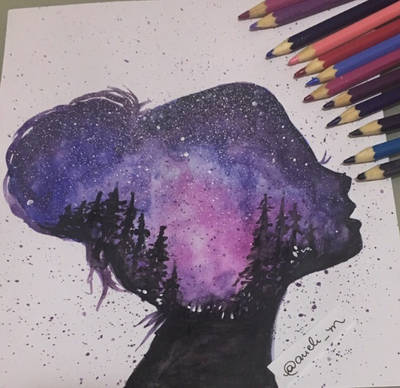 (Watercolor) by arielim