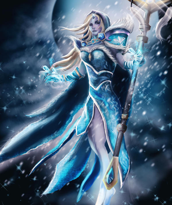 Crystal Maiden Arcana DOTA 2 by Kvnruz on DeviantArt
