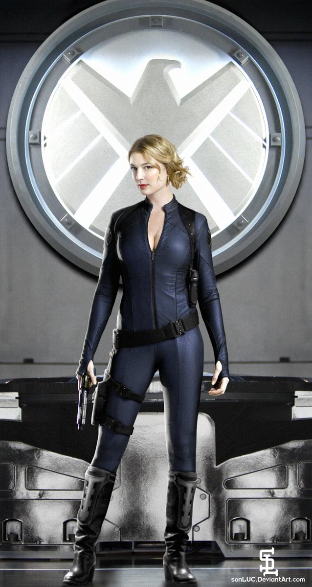 Emily VanCamp as Agent Carter by sonLUC on DeviantArt