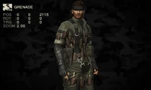 MGS3D - Grenade (Camo)