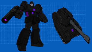 Dark Energon Megatron for TFD