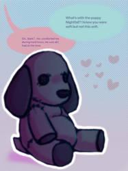 Plushie puppy