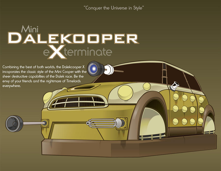 Mini Dalekooper by Mop-of-the-Bucket