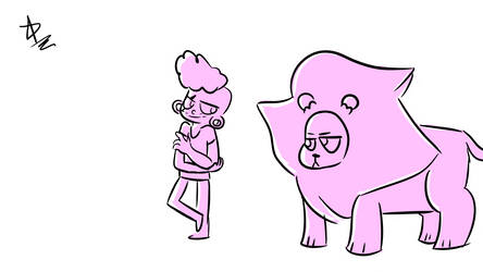 Lars and Lion by ChicaCeleste