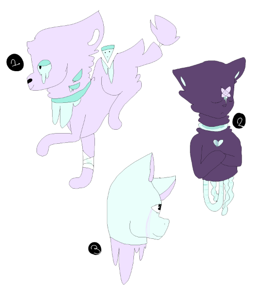 pastel gore adopts by - photo #3