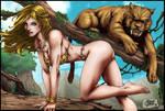 Shanna and Zabu