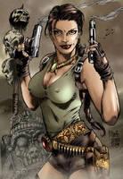 Lara Croft - Tomb Raider 02 by Seabra
