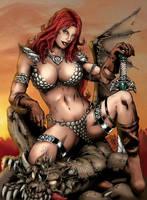 Red Sonja 02 by Seabra
