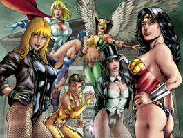 DC Girls by Seabra
