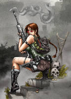Lara Croft - Tomb Raider 03 by Seabra