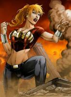 Wonder Girl by Seabra