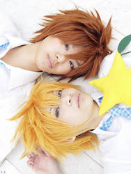 KH2: Sora and Roxas by Justin-92