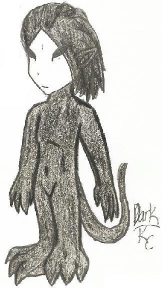 Chibi Dark by Keysey