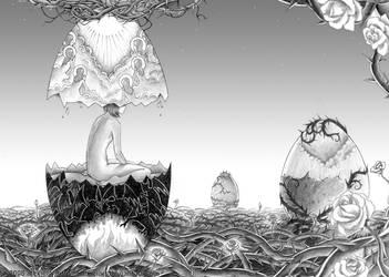 A bigger world by alexielart