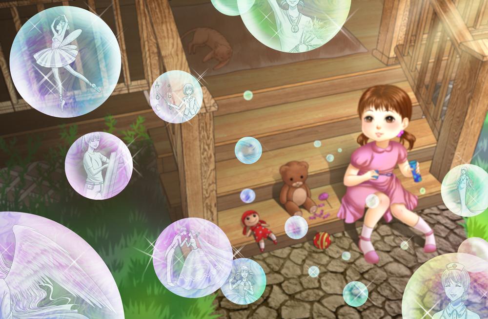 Bubble-shaped dreams by alexielart