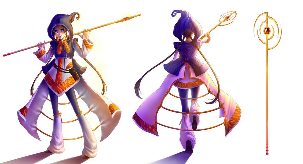 F.E.Z. Sorceress by alexielart
