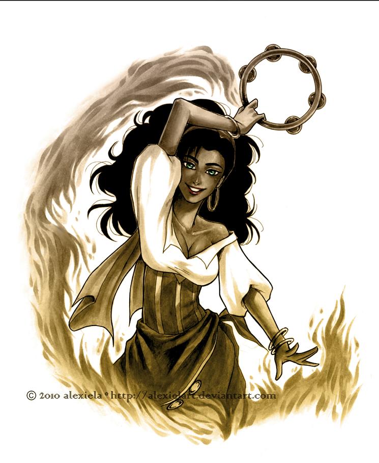 L'image qui roxe du saucisson Hellfire__Esmeralda_by_alexielart