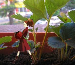 Karigurashi no Arrietty by alexielart