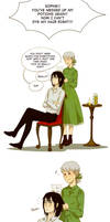 Howl's moving castle: Hair drama