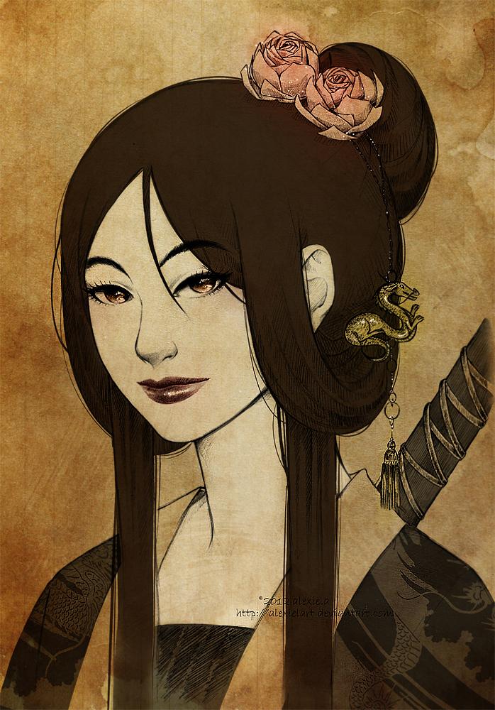 Mulan by alexielart