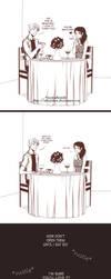 Valentine's Day gift exchange by alexielart