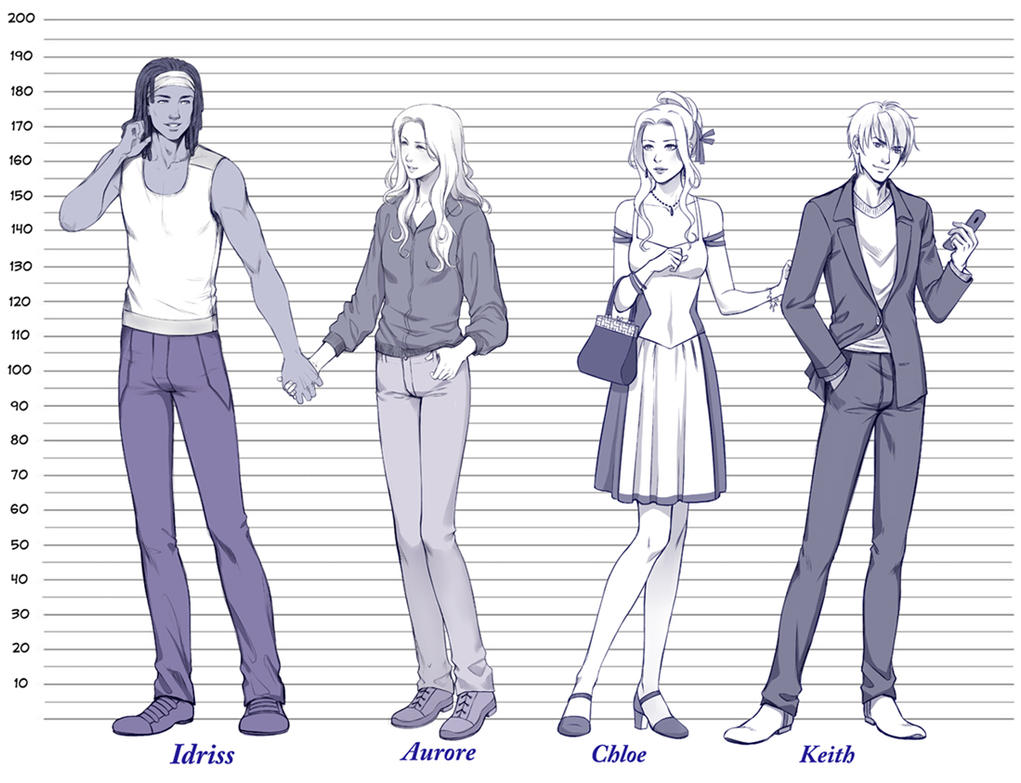 Commission: Height Chart .2. by - 159.8KB