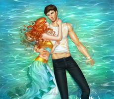 Commission: Mahiri and Trewan by alexielart