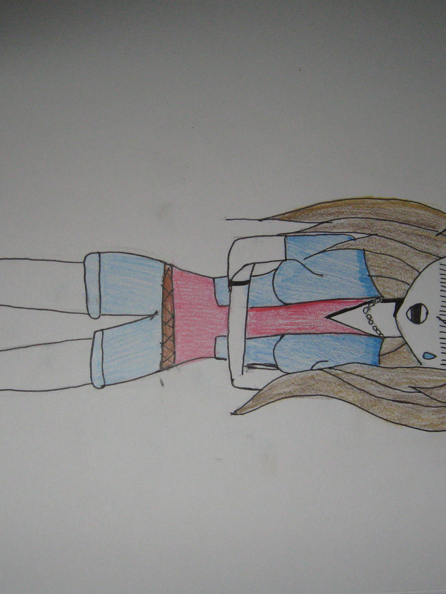manga girl crying by mangagal1