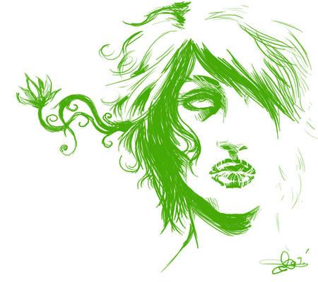 Green- sketch