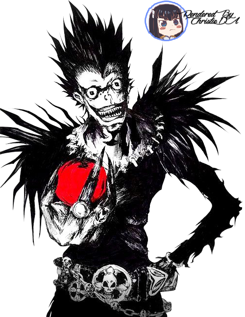 Ryuk Shinigami Render by ChristieDA on DeviantArt